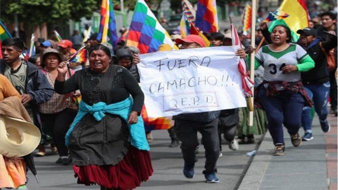 Golpe y masiva resistencia en Bolivia – Liga Internacional Socialista