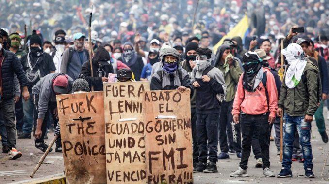 Ecuador: contra el ajuste de Moreno y el FMI. – Liga Internacional Socialista