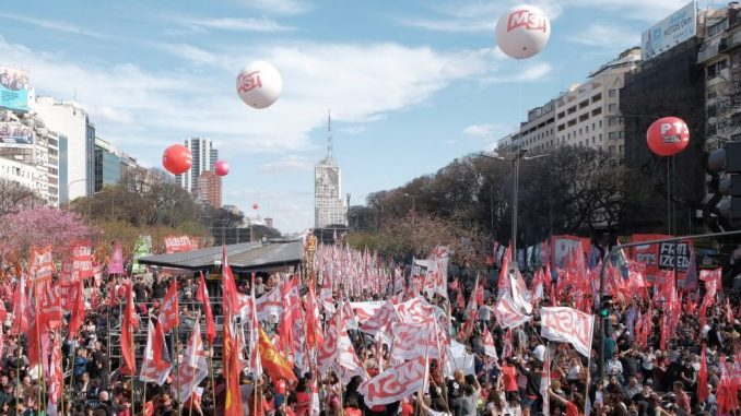 Argentina: Propuesta del MST a los partidos de la Mesa Nacional del FIT-Unidad