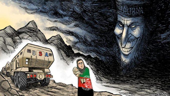 Retirada Estadounidense de Afganistán: el horror después del terror