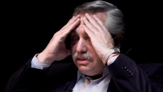 Alberto Fernandez y su gobierno en crisis