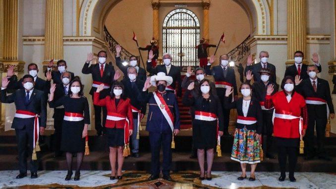 Pedro Castillo nuevo gabinete