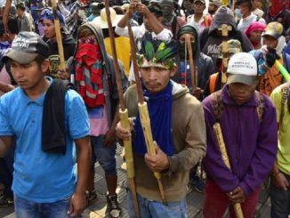 Lucha campesina en Paraguay
